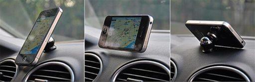 porta celular para auto con cargador