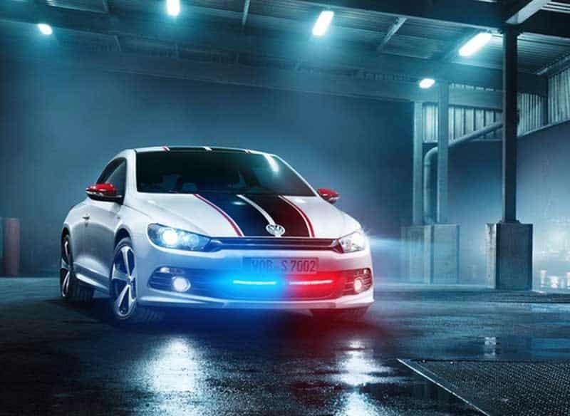 luces de autos