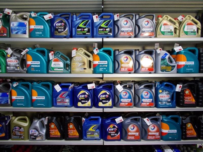 aceites de auto
